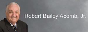 Robert Bailey Acomb Jr